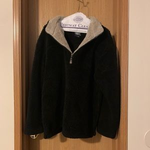 Black Sherpa pull over